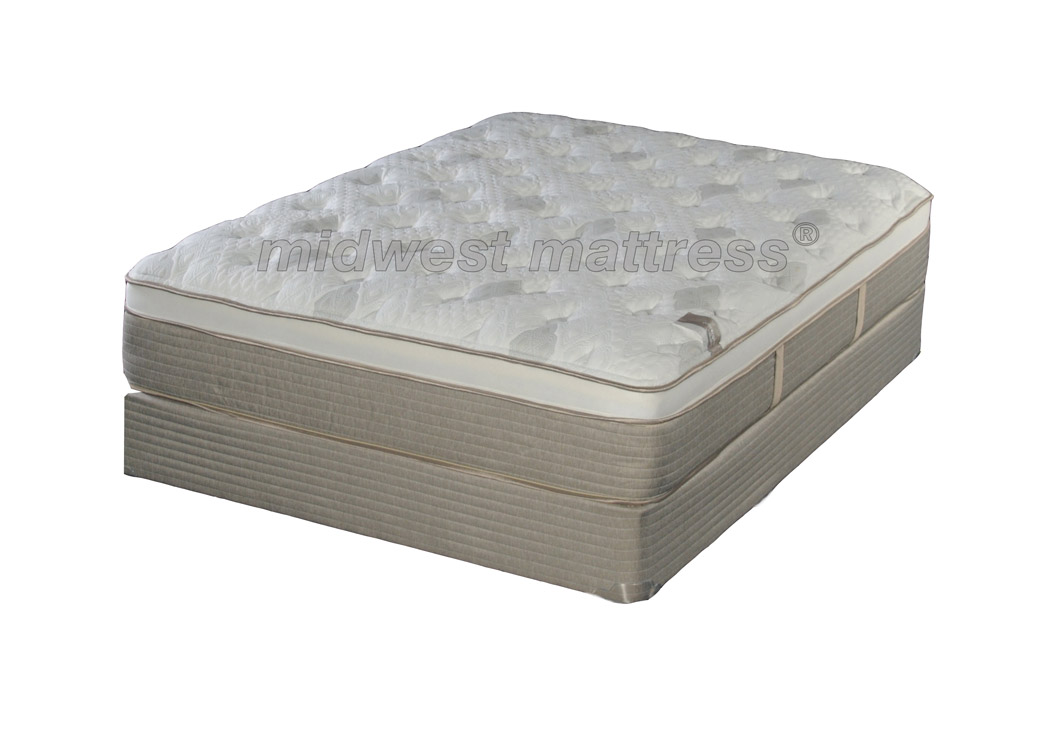 Restonic St Paul Eurotop Latex Mattress