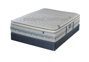Restonic New Hampton Cushion Firm Eurotop Mattress