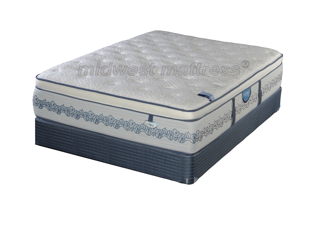 Restonic New Liberty Plush Eurotop Mattress