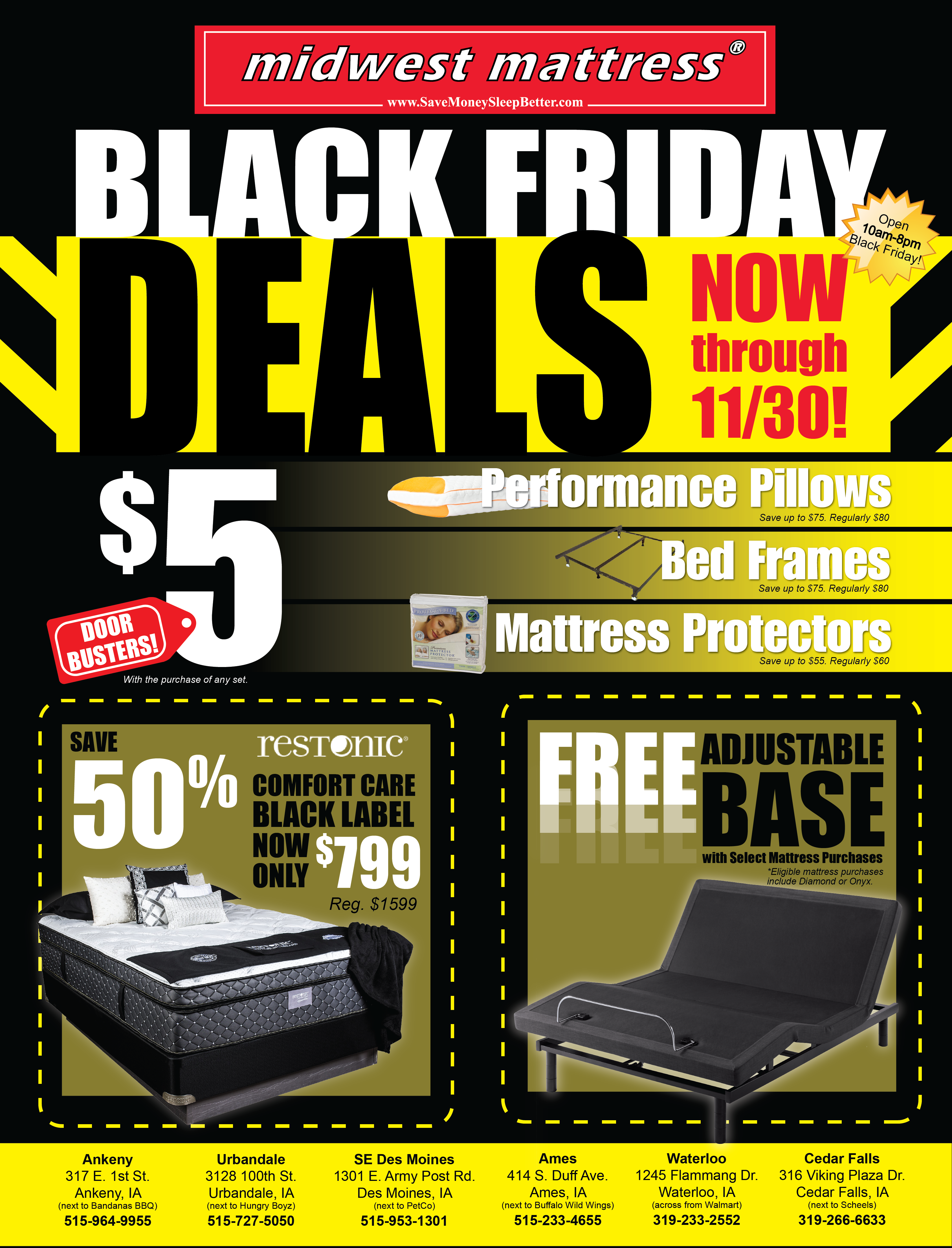 63763d604a Check out Midwest Mattress s latest Black Friday ad!